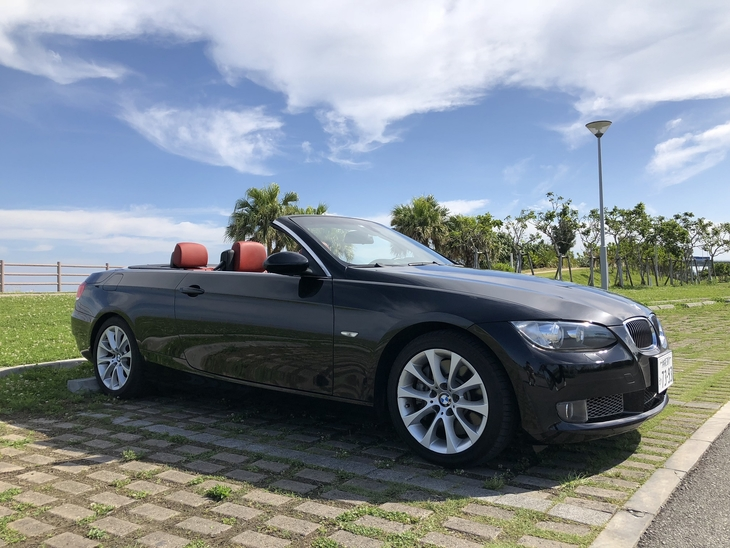 [official site-limited receptionist] BMW 335i cabriolet designation plan (it includes 4 self-introduction convertibles, left-hand drive navigator, ETC, no-smoking car, immunity from responsibility compensation)