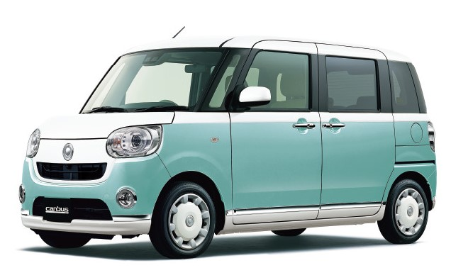 [official site-limited price] Of feelings is two-tone ♪ Designated Daihatsu canvas (it includes AT, non-smoking, navigator, ETC, immunity from responsibility compensation)