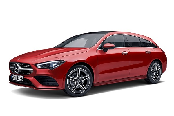 [official site makes a car model-designated reservation] 2020 registration The new CLA 200 d Shooting Brake AMG line