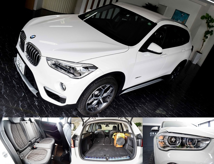 [official site-limited receptionist] New BMW X1 xDrive18d xLine designation plan (it includes AT car, no-smoking car, CLEAN diesel navigator, ETC, immunity from responsibility compensation)