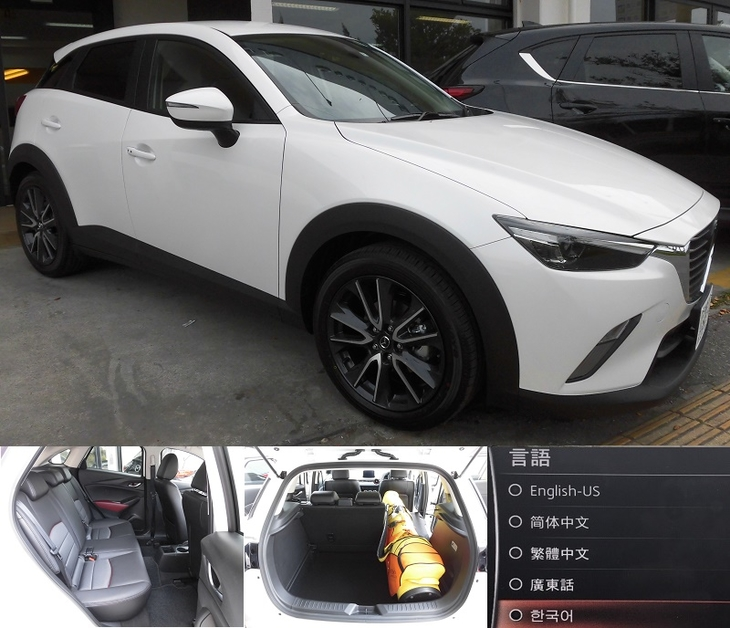 [official site-limited receptionist] Mazda NEW CX-3 XD PROACTIVE 2017 registration vehicle designation plan (it includes AT car, no-smoking car, CLEAN diesel navigator, ETC, immunity from responsibility compensation)