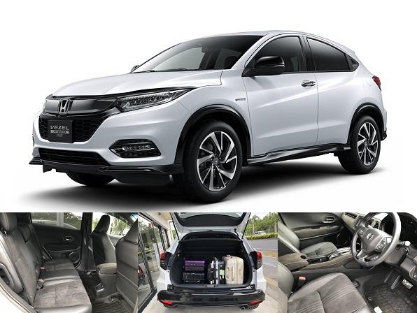 【공식 사이트 한정 접수】HONDA VEZEL Honda SENSING 지정 플랜(AT 차·금연 차·Bluetooth 내비·백 카메라·면책 보상 포함)